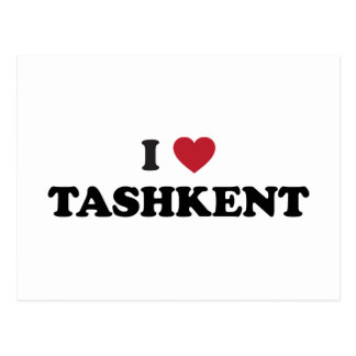 I Heart Tashkent Uzbekistan Postcard