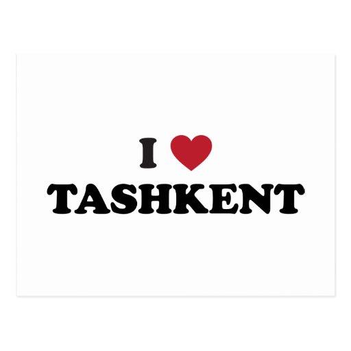 I Heart Tashkent Uzbekistan Postcards