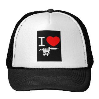 i heart tattoo products trucker hats
