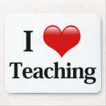 I Heart Teaching Mouse Mats