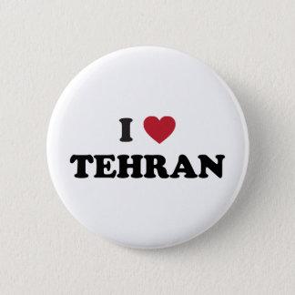 I Heart Tehran Iran 6 Cm Round Badge