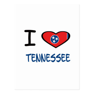 I Heart Tennessee Postcard
