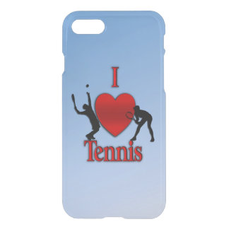 I Heart Tennis Blue Skies iPhone 8/7 Case