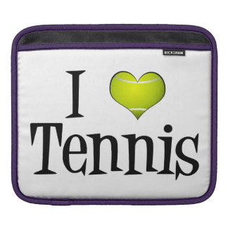 I Heart Tennis iPad Sleeve