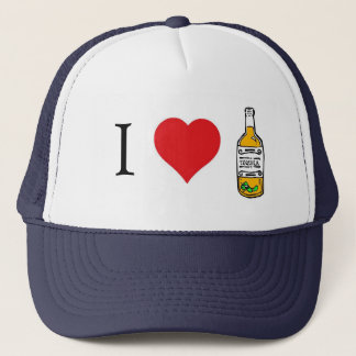 I heart tequila trucker hat