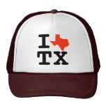 I Heart Texas Trucker Hat