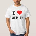 I Heart The 1% Shirts