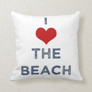 I Heart the Beach Pillow