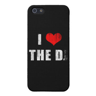I Heart the D ... J? iPhone 5/5S Case