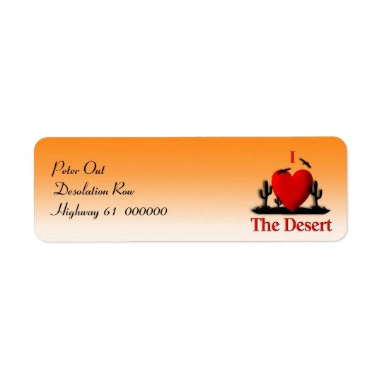 I Heart The Desert