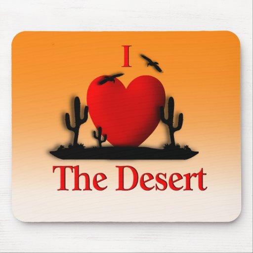 I Heart The Desert Mousepads