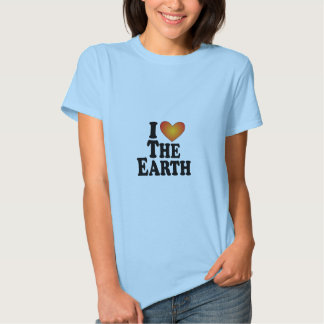 I (heart) The Earth - Lite Multi-Products Tee Shirt