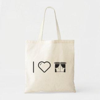 I Heart The Livingrooms Budget Tote Bag