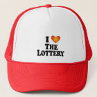 I (heart) The Lottery - Lite Multi-Products Trucker Hat