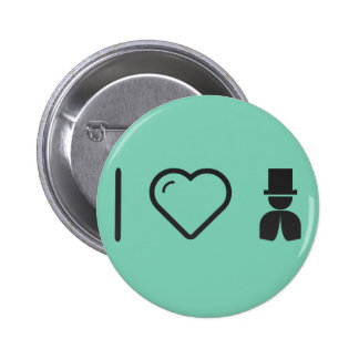 I Heart The Magicians 6 Cm Round Badge