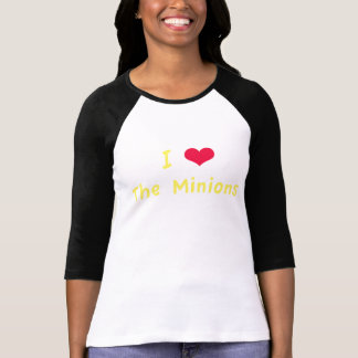 I Heart The Minions T-Shirt