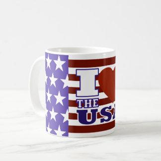 """I """"Heart"""" The USA - Mug"""