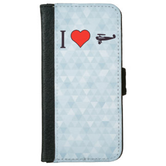 I Heart The Wright Brothers iPhone 6 Wallet Case