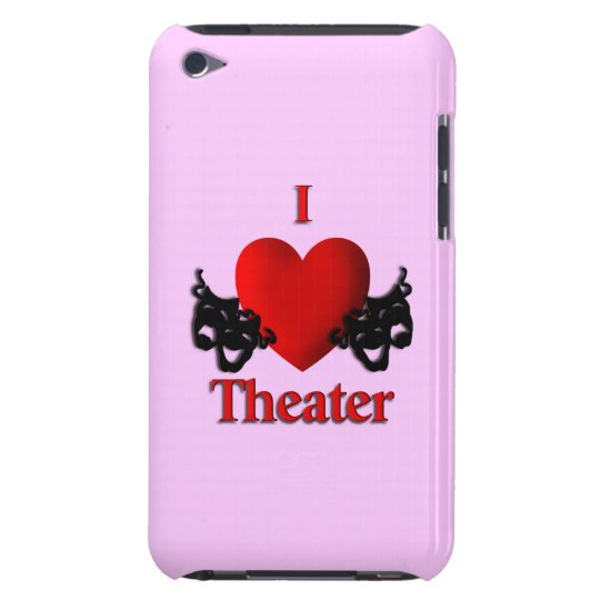 I Heart Theatre Barely There iPod Cases