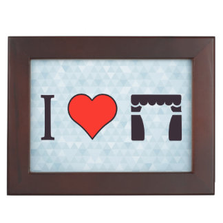 I Heart Theatre Keepsake Box