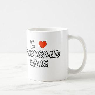 I Heart Thousand Oaks Basic White Mug