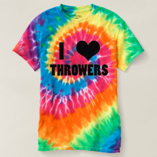 I Heart Throwers, Track and Field Thrower Shirt
