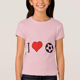 I Heart To Play International Football T-Shirt