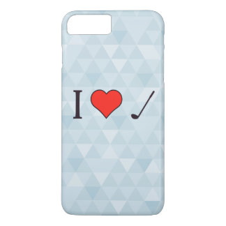 I Heart To Watch Golf iPhone 7 Plus Case