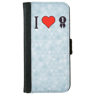 I Heart To Win The Game iPhone 6 Wallet Case