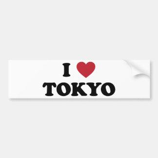 I Heart Tokyo Japan Bumper Sticker