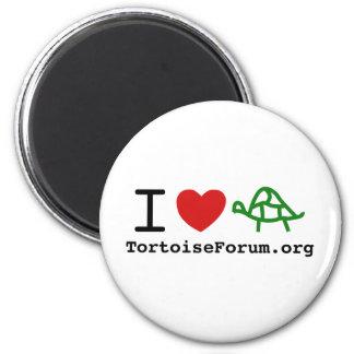 I Heart Tortoises Refrigerator Magnet