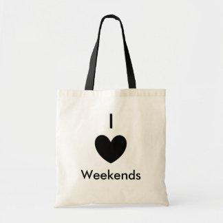 I Heart Tote Budget Tote Bag