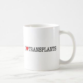 I heart Transplants Coffee Mug