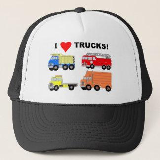 I HEART TRUCKS TRUCKER HAT