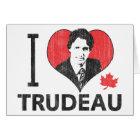 I Heart Trudeau Card