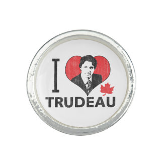 I Heart Trudeau Ring