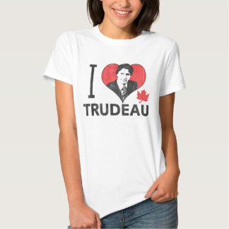 I Heart Trudeau T-shirts