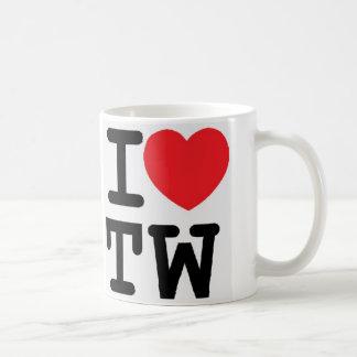 I heart TW design Mugs