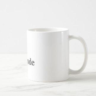 I (heart) Unicode Basic White Mug