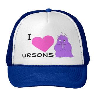I heart ursons hat