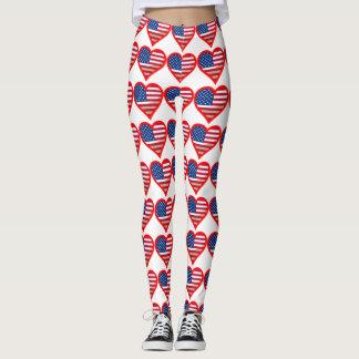 I Heart USA Tile Leggings