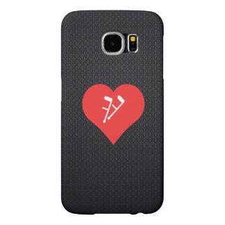 I Heart Using Crutches Icon Samsung Galaxy S6 Cases