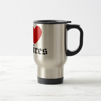 I heart Vampires Coffee Mugs