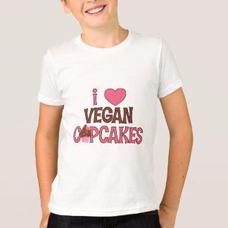 I Heart Vegan Cupcakes T-Shirt