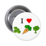 i heart veggies pins