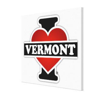I Heart Vermont Canvas Print