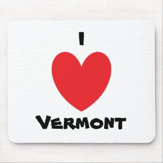 I Heart Vermont Mousepad