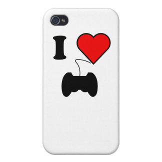 I Heart Video Games iPhone 4/4S Cases