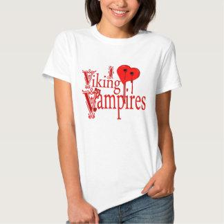 I Heart Viking Vampires Tee Shirts