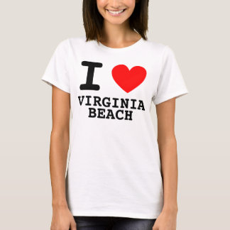 I Heart Virginia Beach Shirt